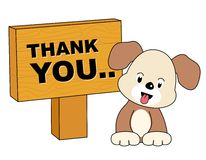Dg thank you card Stock Photo