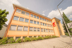 DGB and IGM building Rosenheim Stock Images