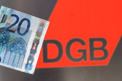 DGB money Royalty Free Stock Photos