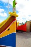 Χρώματα του της Μάλτα Dghajsa Στοκ εικόνες με δικαίωμα ελεύθερης χρήσης