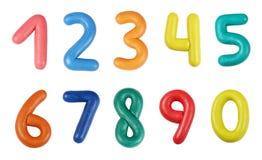 Dígitos Fotografía de archivo libre de regalías