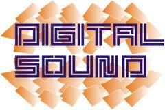 Dıgıtal sound Royalty Free Stock Photo