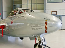 DH-115 vampiro T35 - parte anteriore Immagine Stock