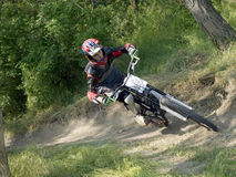 DH biker Royalty Free Stock Image