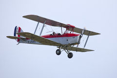 DH82A Tiger Moth II K2585 g-ANKT Stock Foto's