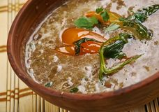 Dhaba Style Dal Fry Stock Images