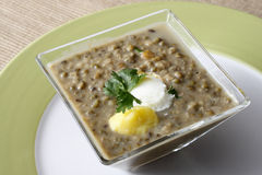 Dhabey ki daal is a delicacy from Punjab in India Stock Images