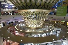 Dhabi-internationaler Flughafen Lizenzfreie Stockbilder