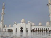 Dhabi-Scheich Zayed Mosque Lizenzfreies Stockbild