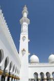 Dhabi-Scheich Zayed Mosque Lizenzfreie Stockfotos