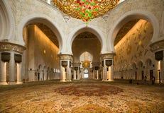 Dhabi-Scheich Zayed Mosque Stockbild