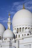 Dhabi-Scheich Zayed White Mosque Stockfotografie