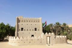 Dhafeer fort w Abu Dhabi, UAE Obrazy Royalty Free