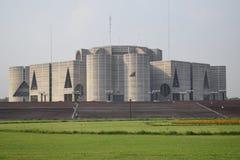 Dhaka, Bangladesh, - janeiro, 27, 2019: Casa do parlamento nacional, imagem de stock royalty free