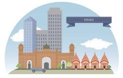 Dhaka, Bangladesh. For you design stock illustration