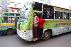 Dhaka-Bus Lizenzfreies Stockbild