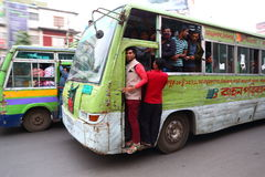 Dhaka bus Royalty Free Stock Image