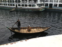 Dhaka Sadarghat Lizenzfreies Stockbild