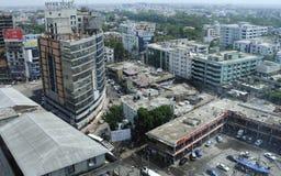 Dhaka stad Fotografering för Bildbyråer