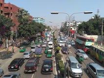 Dhaka-Stadt stockfotos