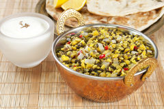 Dhal Indian Vegetarian Food Stock Images