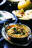 Dhal with pumpkin. Indian cuisine Royalty Free Stock Photography