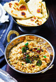 Dhal with pumpkin. Indian cuisine Stock Image