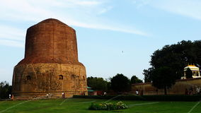 Dhamek Stupa in Sarnath Royalty Free Stock Photos