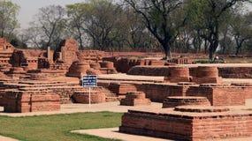 Dhamekh Stupa Fotografía de archivo libre de regalías