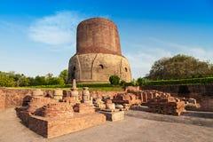 Dhamekh Stupa Stock Photo