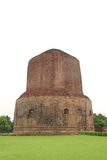 The Dhamekh Stupa at Sarnath, India Royalty Free Stock Image