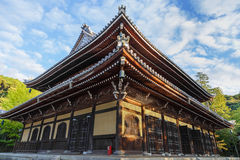 Dhamma Hall at Nanzen-ji Temple in Kyoto Royalty Free Stock Photography