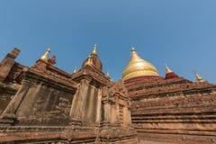 Dhamma Ya Zi Kapagod i Bagan, Myanmar royaltyfria bilder
