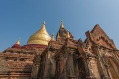 Dhamma Ya Zi Kapagod i Bagan, Myanmar royaltyfria foton