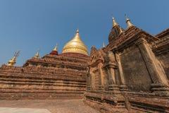 Dhamma Ya Zi Kapagod i Bagan, Myanmar royaltyfri fotografi