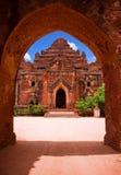 Dhamma Yangyi Tempel, Bagan, Myanmar Lizenzfreies Stockbild