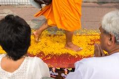 Dhammachai Dhutanga στο δρόμο Chaengwattana Στοκ Εικόνες