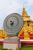 Dhammajak molding art Stock Image