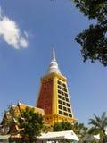 Dhammamongkol寺庙 免版税库存照片