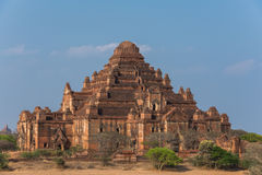 Dhammayangyi de grootste Tempel in Bagan, Myanmar Royalty-vrije Stock Foto