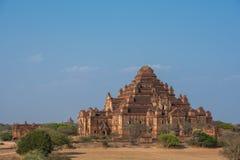Dhammayangyi den största templet i Bagan, Myanmar royaltyfria foton