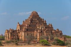 Dhammayangyi der größte Tempel in Bagan, Myanmar Lizenzfreies Stockfoto