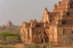 Dhammayangyi der größte Tempel in Bagan, Myanmar Lizenzfreies Stockbild