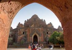 Dhammayangyi stupa, Ceglane świątynie w Bagan Fotografia Royalty Free