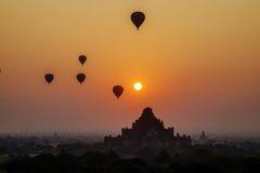 Dhammayangyi Tempel in Bagan, Myanmar Stockbild