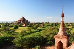 Dhammayangyi-Tempel, wie von Pagode 761 gesehen Bagan myanmar Stockfotografie