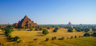 Dhammayangyi temple at sunrise, Bagan, Myanmar Royalty Free Stock Photos