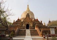 Dhammayazika Los templos de Bagan (pagano), Mandalay, Myanmar, Birmania foto de archivo libre de regalías