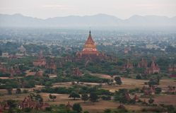 Dhammayazika pagoda in Bagan, Myanmar Stock Photo