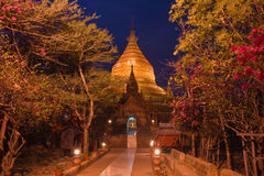 Dhammayazika Pagoda, Bagan, Myanmar Royalty Free Stock Photo